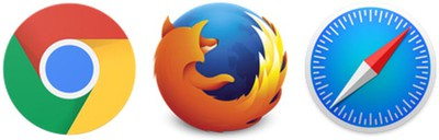 chrome safari firefox