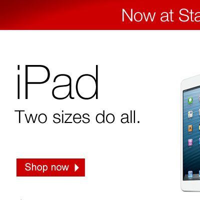 ipad now at staples