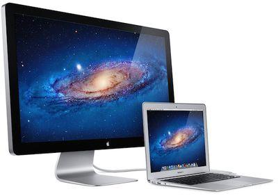 macbook air thunderbolt display