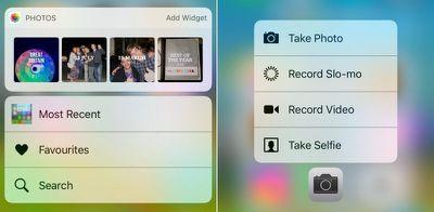 photos-camera 3D Touch