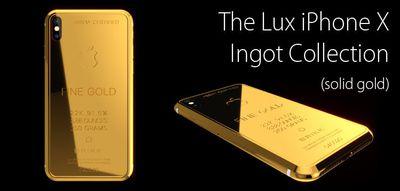 lux iphone x