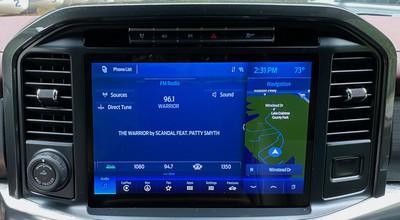 2021 ford f150 sync radio nav