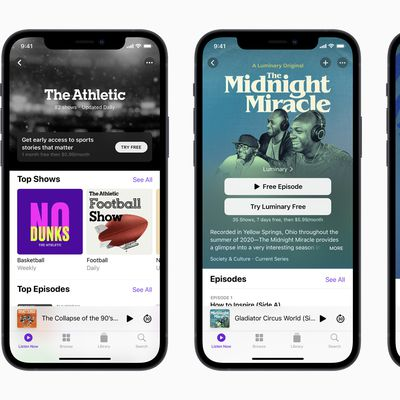 Apple Podcasts iOS 14 5