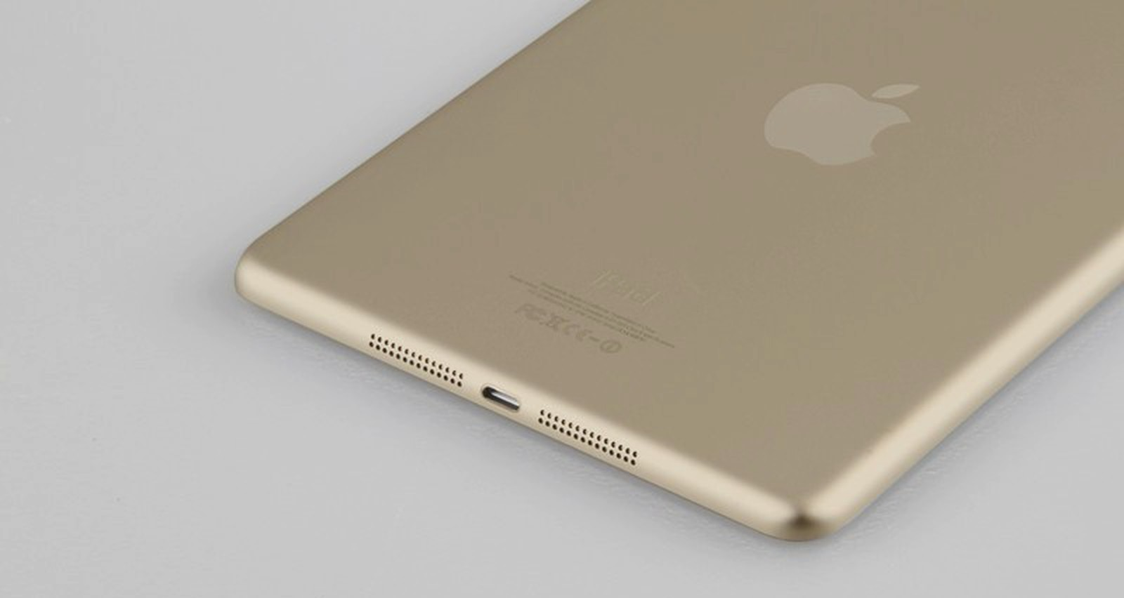Photos of Claimed Gold iPad Mini with Touch ID Fingerprint ...