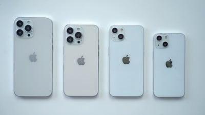 iphone 13 dummy model lineup