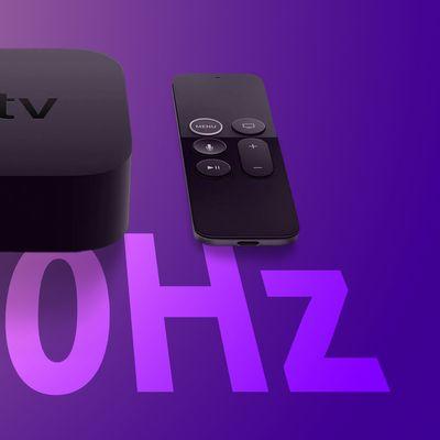 Apple TV 120hz Feature
