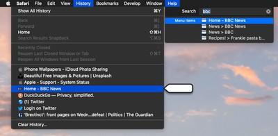 how to use macos help menu 5