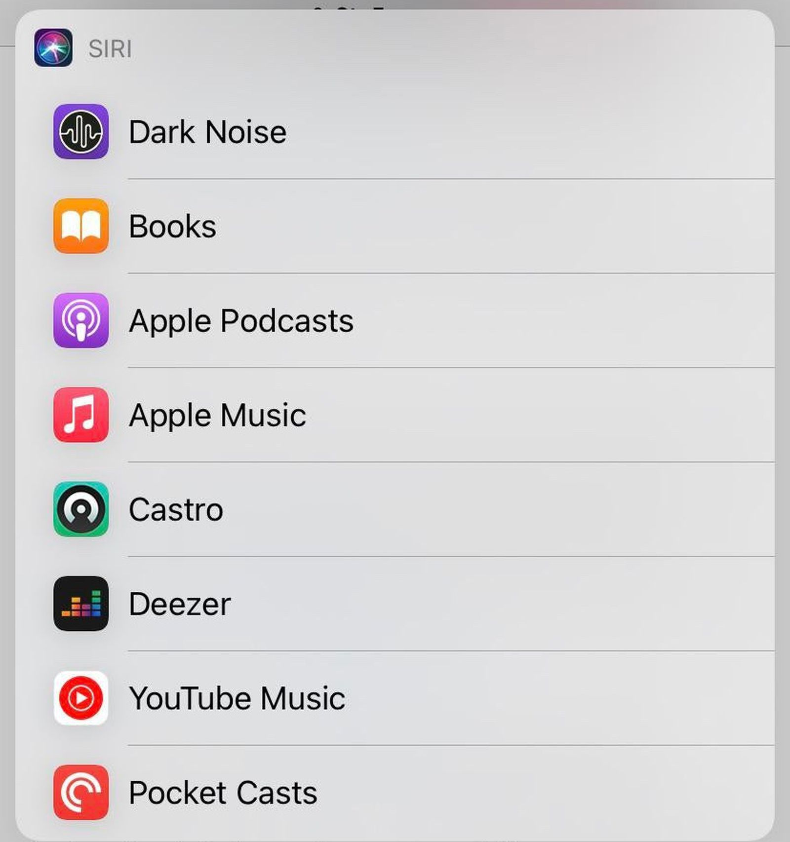 Siri Setting in iOS 14.5 Beta Lets Users Select Default Music Streaming Service