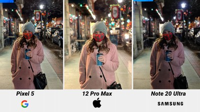 iphone 12 pro max night mode comparison