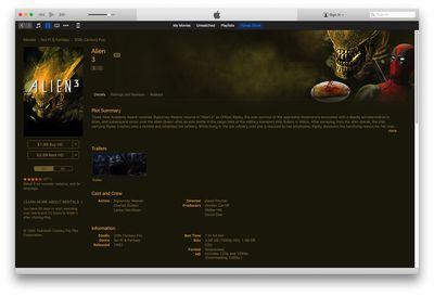 Deadpool iTunes Store