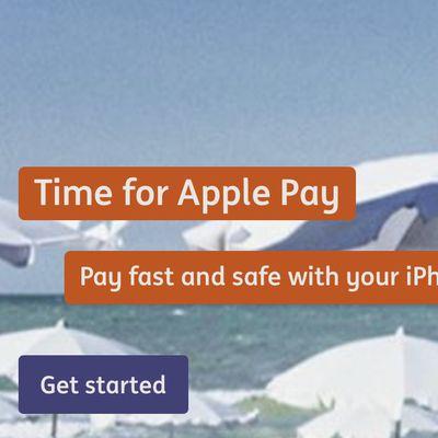 ing belgium apple pay
