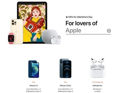 apple valentines day gift guide