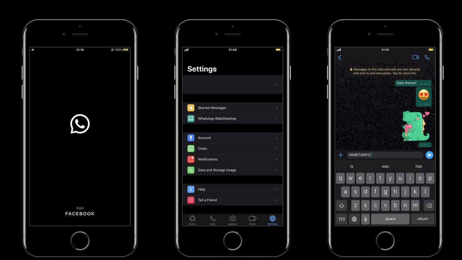 How To Enable Whatsapp S Dark Mode For Iphone Macrumors
