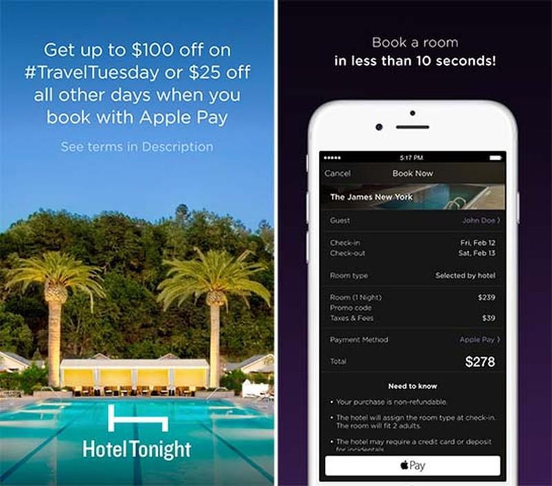 HotelTonight-Apple-Pay