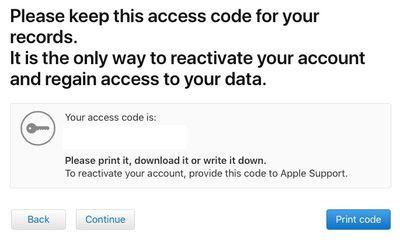 deactivate code