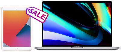 ipad and macbook sale