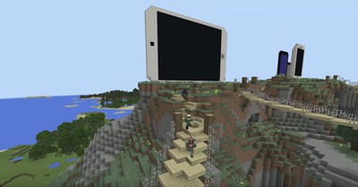minecraft iphone creation