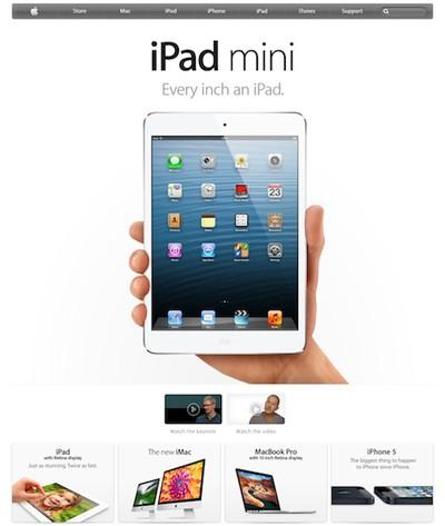 ipad mini uk apple front
