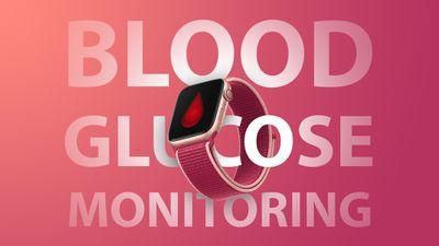 apple watch blood glucose feature