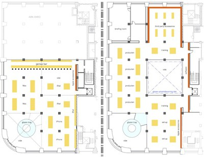 apple store amsterdam floor plans