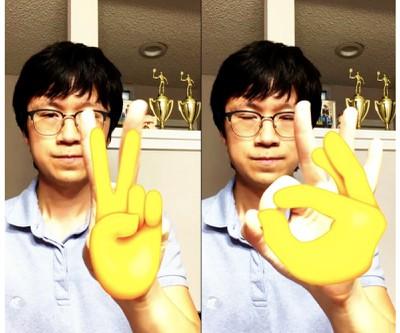 apple vision framework hand emoji