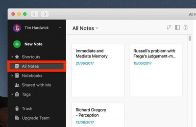 how to migrate from evernote to apple notes 1