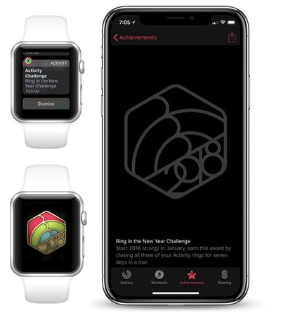 apple watch ring new year 2018