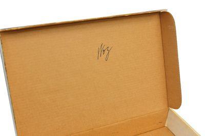apple 1 signed box woz