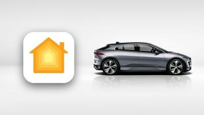 jaguar car homekit