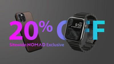 nomad 20 percent off exlusive bar