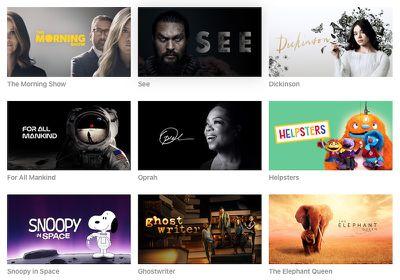 apple tv plus series