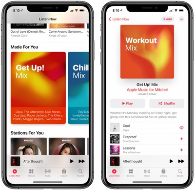 workout mix image