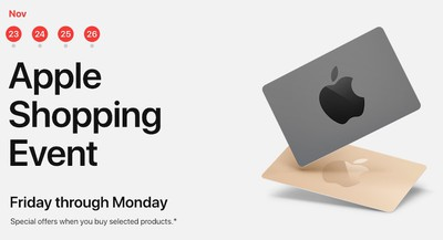 apple black friday 2018