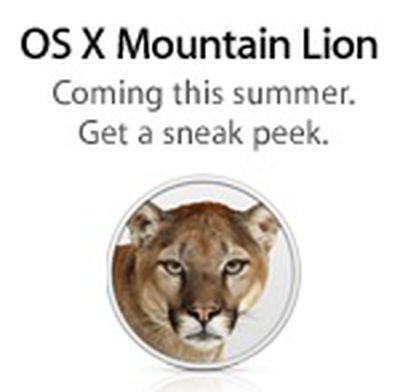 os x mountain lion sneak peek icon