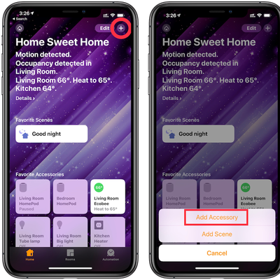 1 add homekit device 1