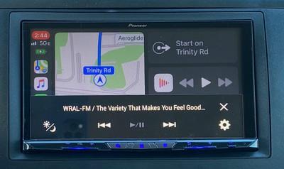 pioneer carplay menu bar