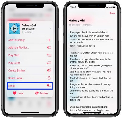 search for songs in the apple music library 1