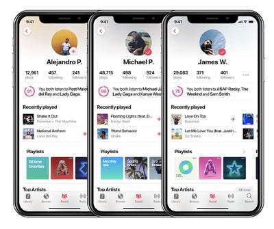 Pabasio apple music concept 6