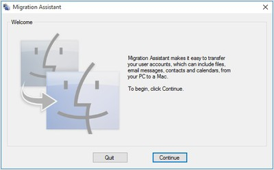 Windows Migration Assistant now supports macOS Big Sur