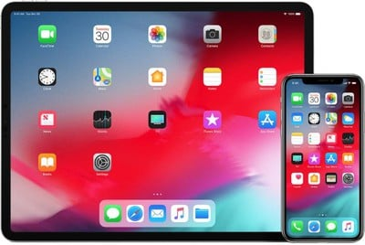 ipad iphone duo ios 12