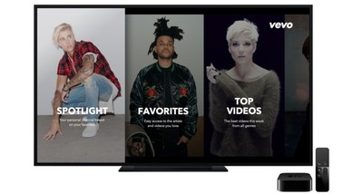 Apple TV Vevo