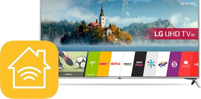 lg smart tv homekit