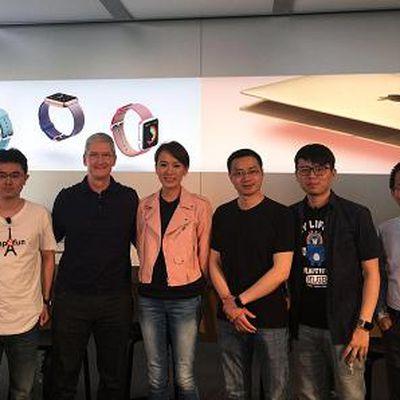 Tim Cook Beijing Visit