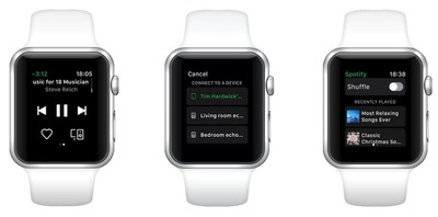 how to use spotify on apple watch 1