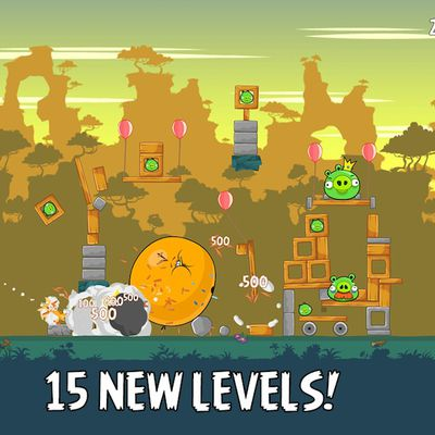 angry birds app of week levels