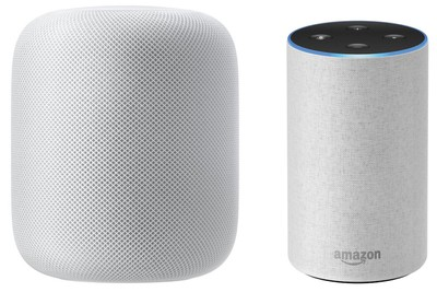 homepod and echo