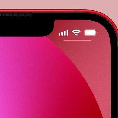iphone 13 notch battery percent