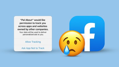iOS14AntitrackFacebookSad 1