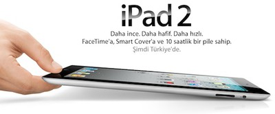 ipad 2 in hand turkey