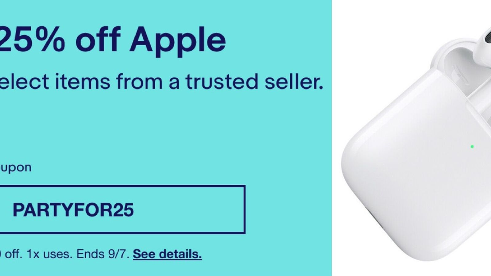 Deals Ebay S New Coupon Takes 25 Off Select Brands Including Apple Beats And More Macrumors